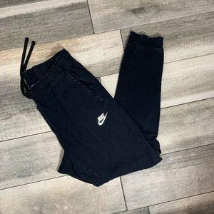 {Nike} black jogging pants